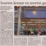 Soorten komen en soorten gaan - 25 feb. 2009 in De Gelderlander